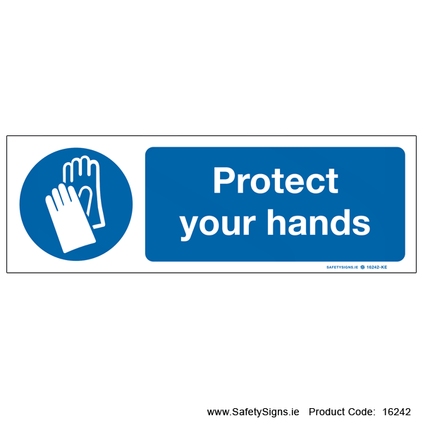 Protect your Hands - 16242
