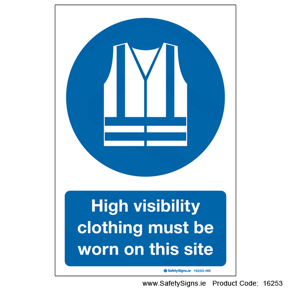 High Visibility Clothing - 16253
