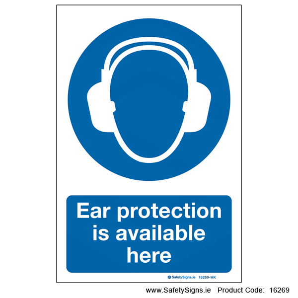 Ear Protection Available Here - 16269