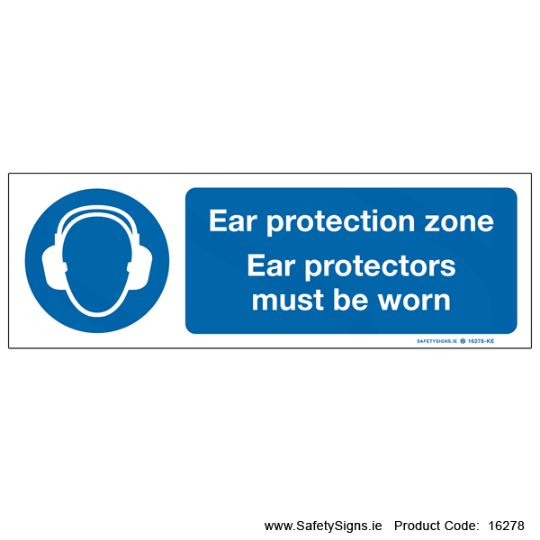 Ear Protection Zone - 16278
