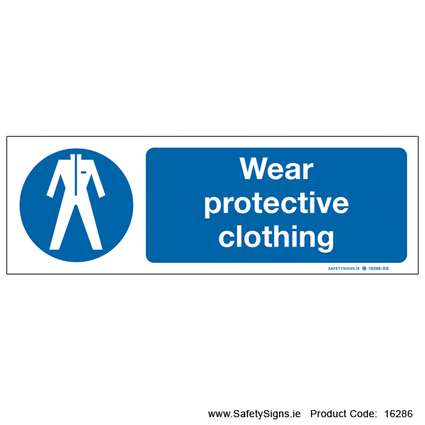 Wear Protective Clothing - 16286