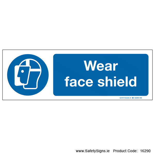 Wear Face Shield - 16290
