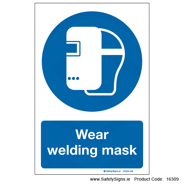 Wear Welding Mask - 16309