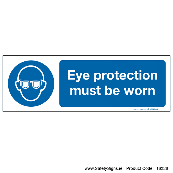 Eye Protection must be Worn - 16328