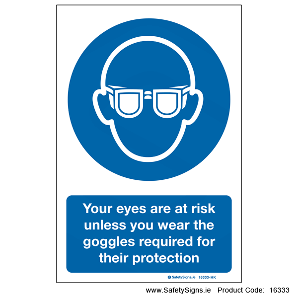 Eye Protection - 16333