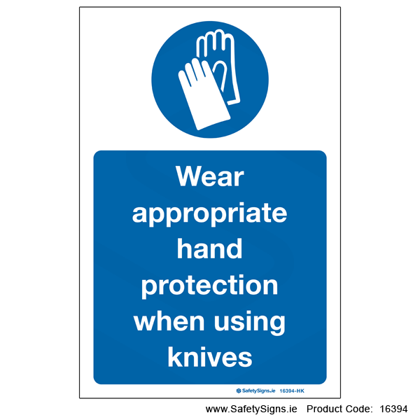 Wear Hand Protection - 16394