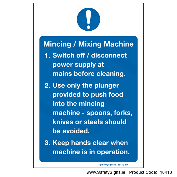 Mincing Mixing Machine - 16413