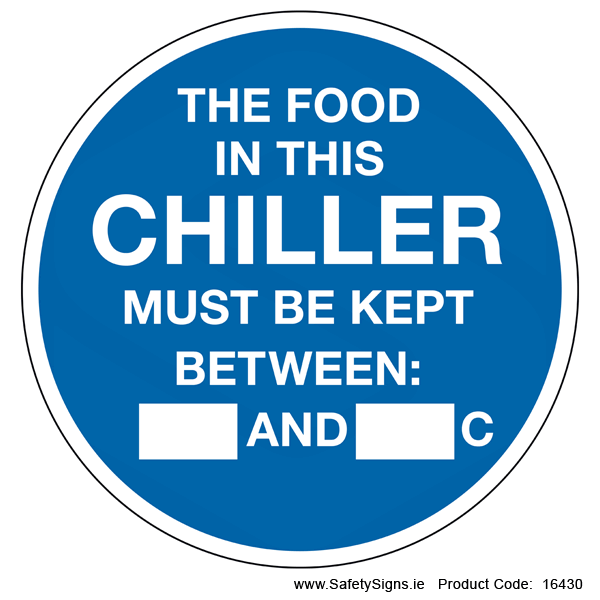 Chiller Temperature (Circular) - 16430