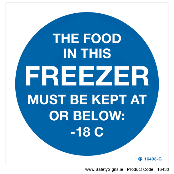 Freezer Temperature - 16433