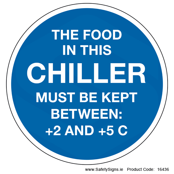 Chiller Temperature (Circular) - 16436