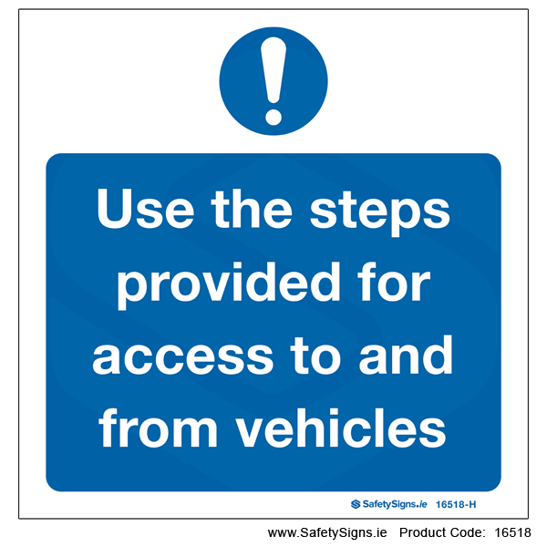 Use Steps for Access - 16518