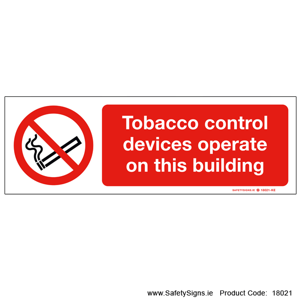 Tobacco Control Devices - 18021