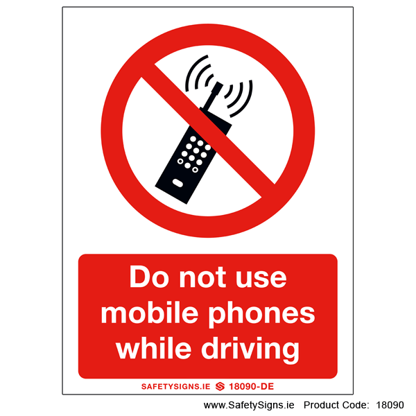Do not use Mobile Phones - 18090