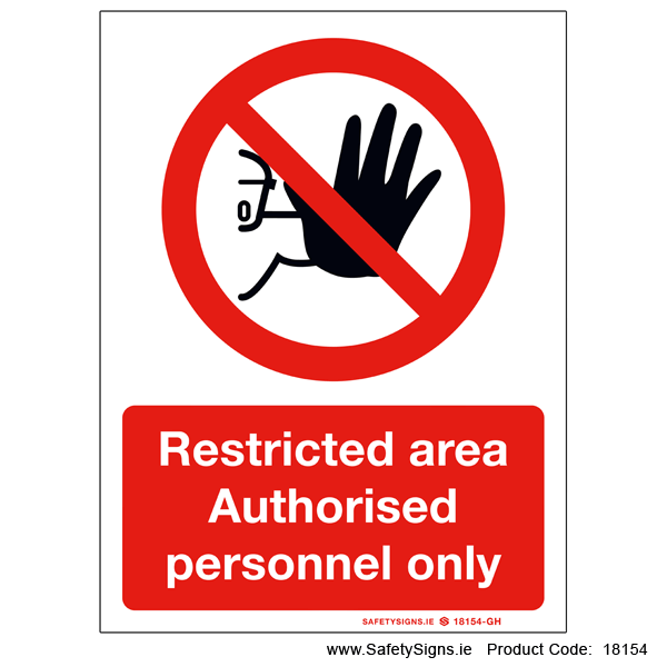 Restricted Area - 18154