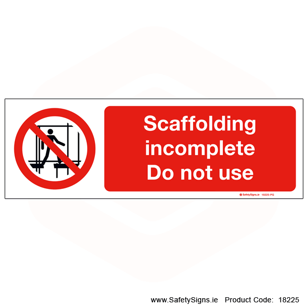 Scaffolding Incomplete - 18225