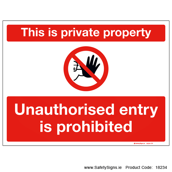 Private Property - 18234