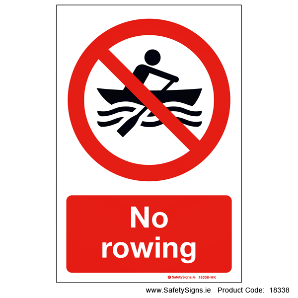 No Rowing - 18338