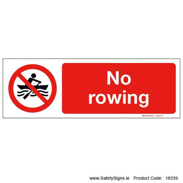 No Rowing - 18339