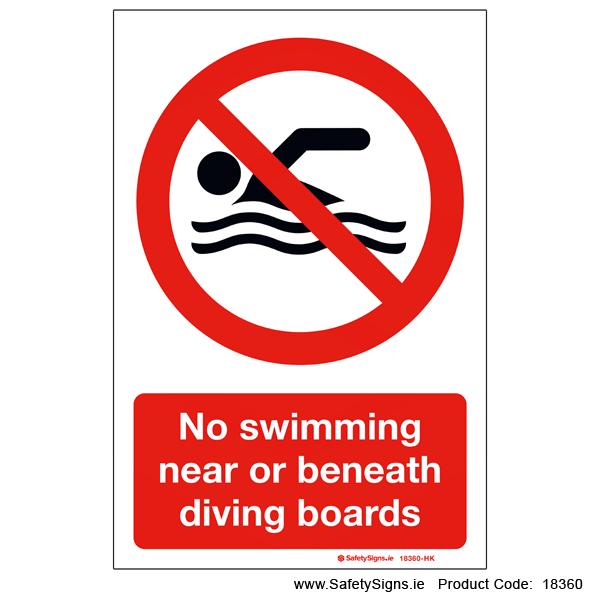 No Swimming - 18360
