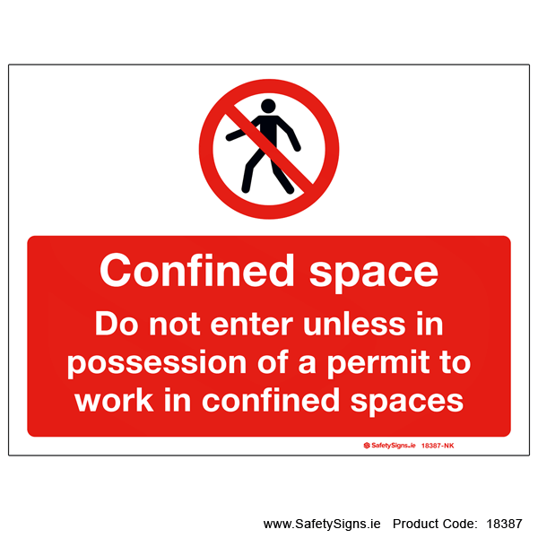 Confined Space - 18387