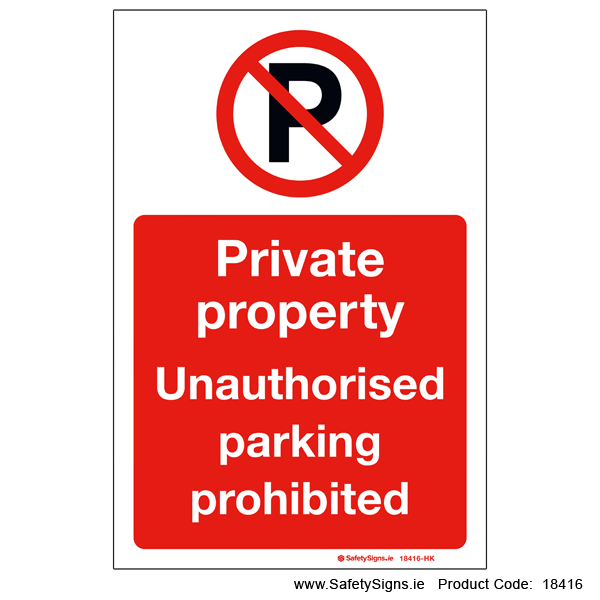 Private Property - 18416