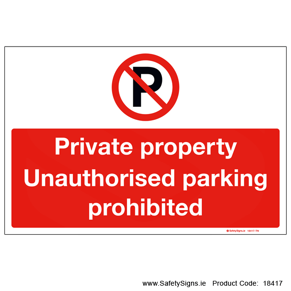 Private Property - 18417