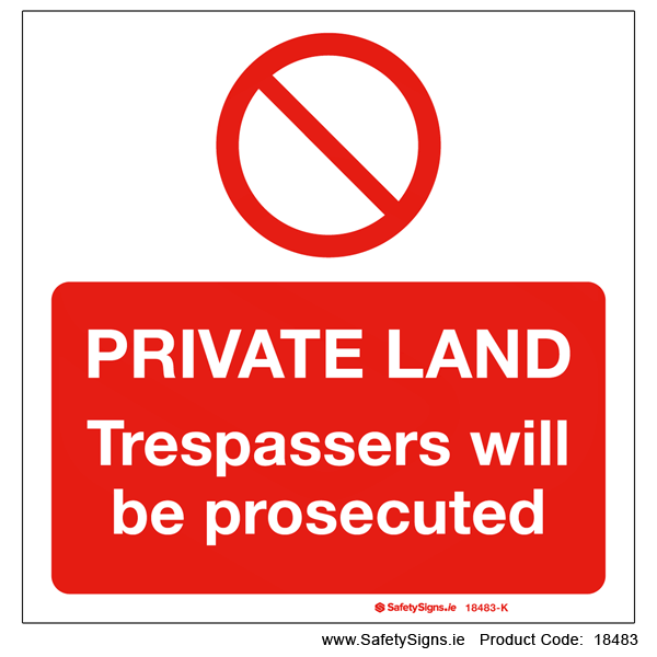 Private Land - 18483