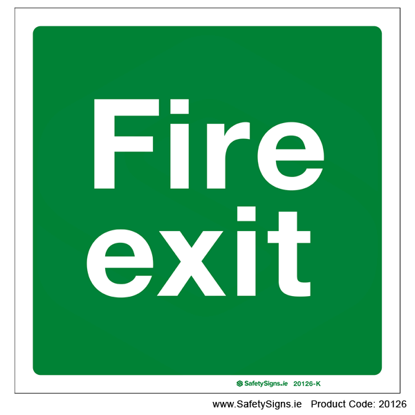 Fire Exit - 20126