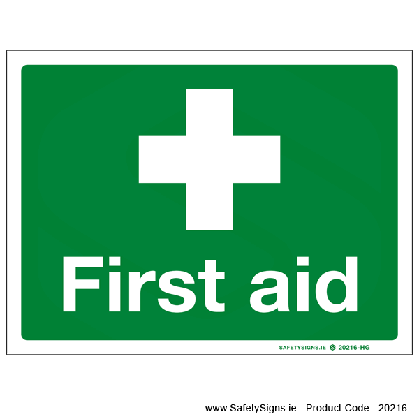 First Aid - 20216