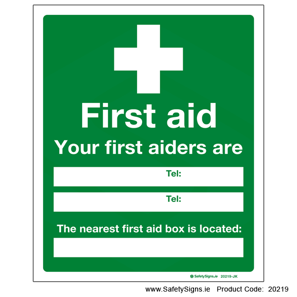 First Aiders - 20219