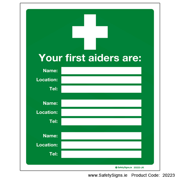 First Aiders - 20223
