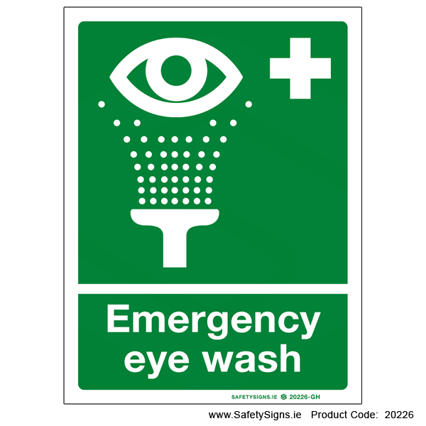 Emergency Eye Wash - 20226