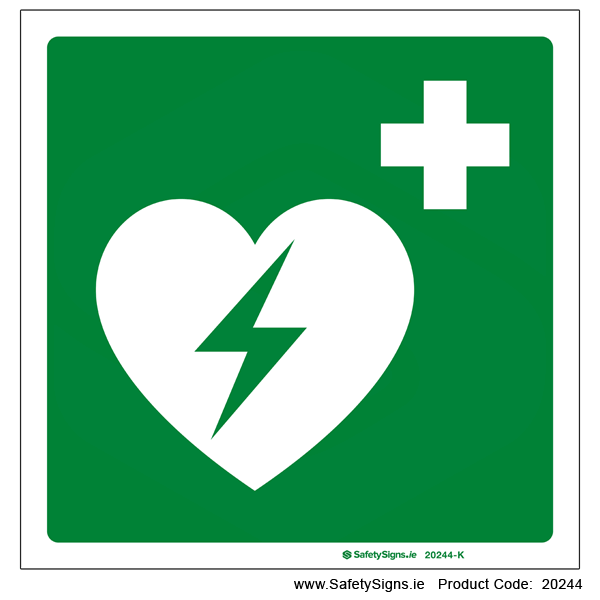 Automated External Heart Defibrillator - 20244