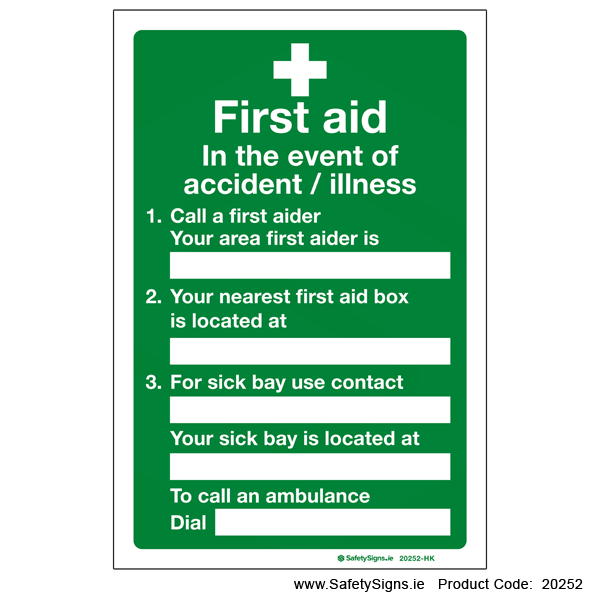 First Aid Action - 20252
