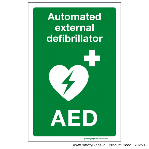 Automated External Defibrillator AED - 20259