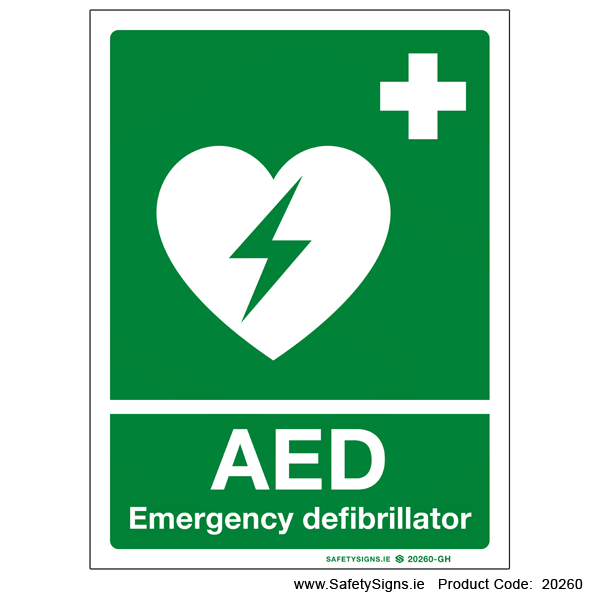 Automated External Defibrillator AED - 20260