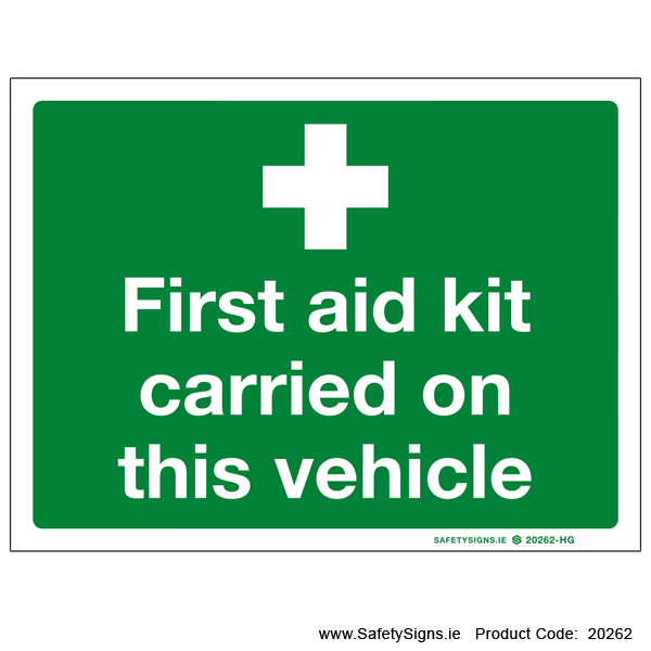 First Aid - 20262