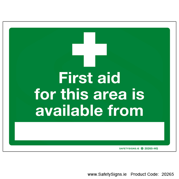 First Aid - 20265