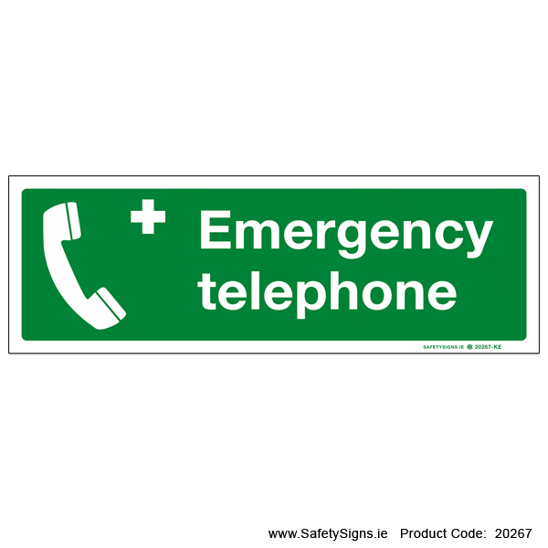 Emergency Telephone - 20267