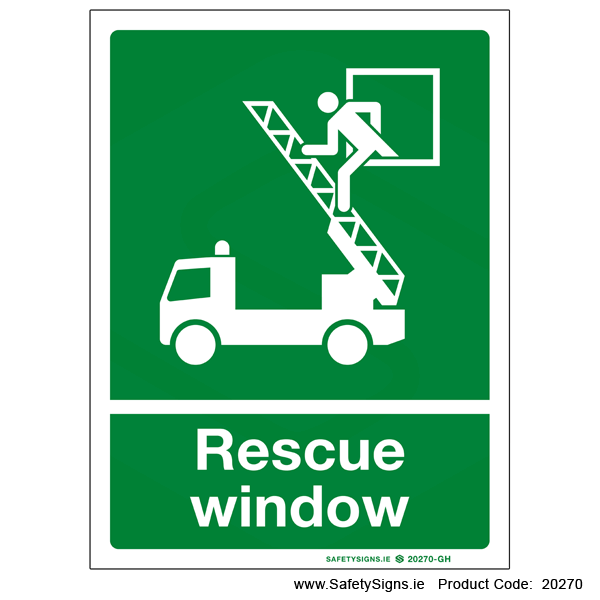 Rescue Window - 20270