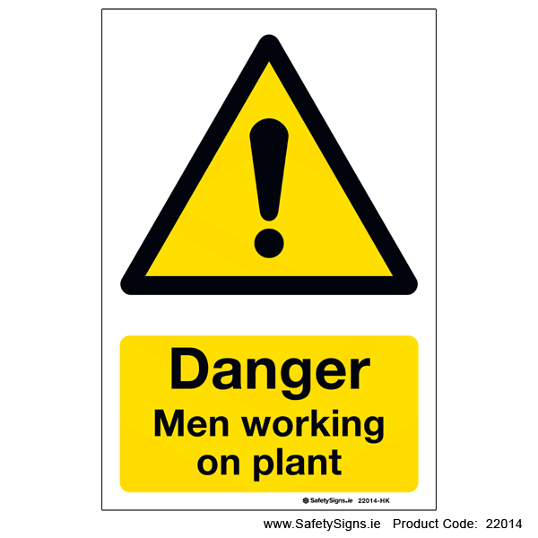 Men Working on Plant - 22014