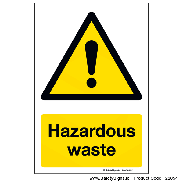 Hazardous Waste - 22054