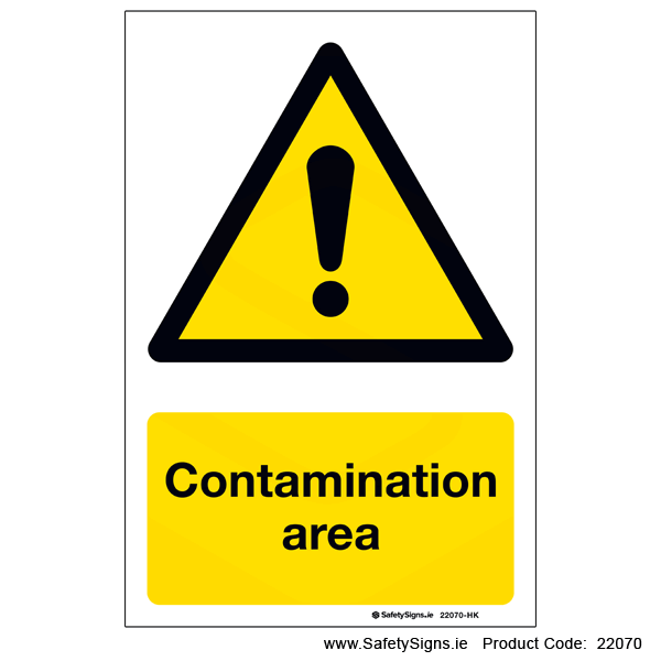 Contamination Area - 22070