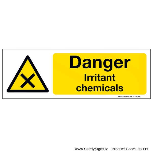 Irritant Chemicals - 22111