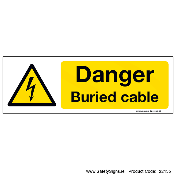 Buried cable - 22135