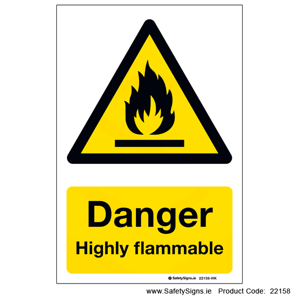 Highly Flammable - 22158