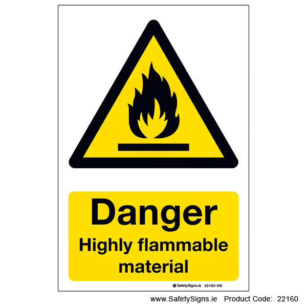 Highly Flammable Material - 22160