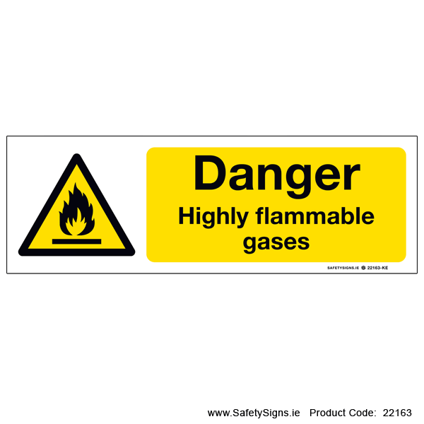 Highly Flammable Gases - 22163