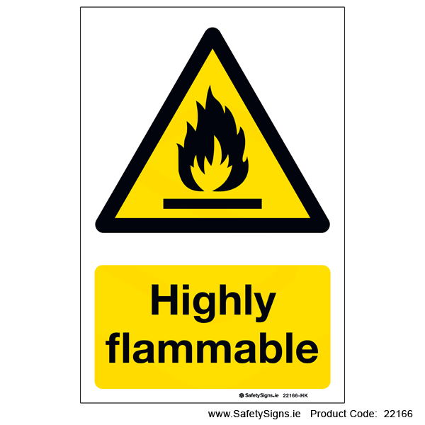 Highly Flammable - 22166
