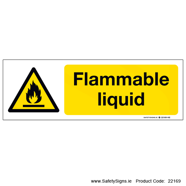 Flammable Liquid  - 22169